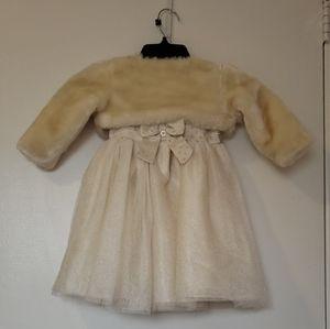 Blurber Boulevard Toddler Girl Dress